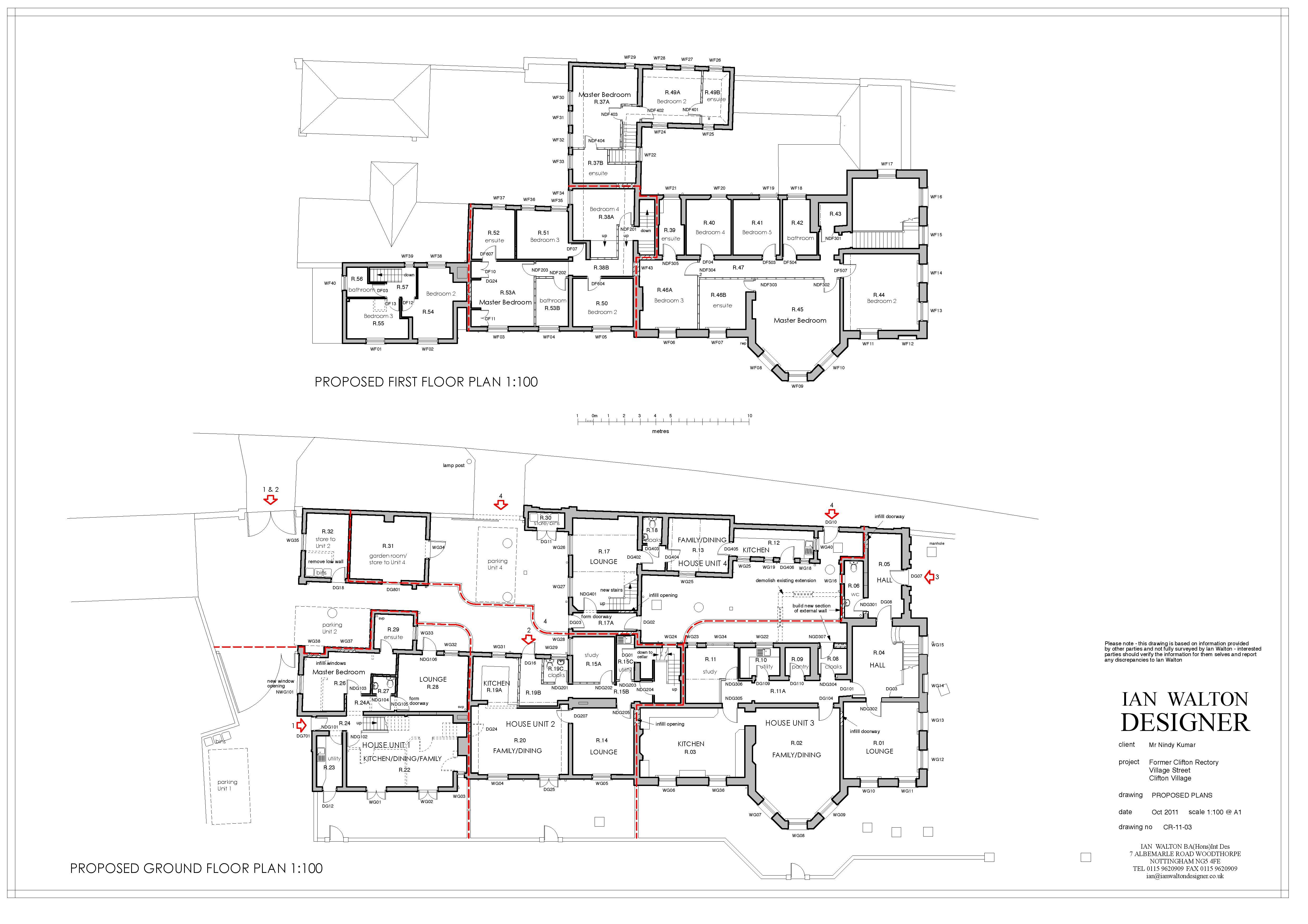 Example Plans Nottingham City Council